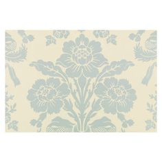 Laura Ashley Tatton Duck Egg Wallpaper 10m - from masters
