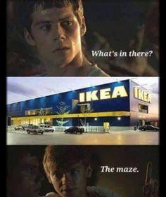 Ikea maze