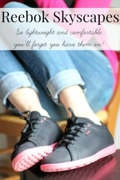 These shoes are lightweight and super comfortable, the perfect everyday shoe!
