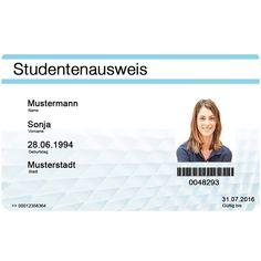 Studentenausweis online bestellen! Daten eingeben, Foto hochladen und liefern lassen. Viel Spaß beim Bestellen :)