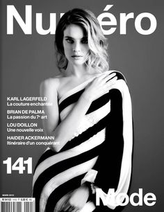 Natalia Vodianova by Karl Lagerfeld for Numero March 2013