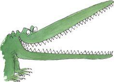 Quentin Blake illustrations. I love Roald Dahl!