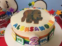 Brown bear birthday theme