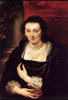 El cuerpo del vestido femenino muestra un escote profundo, que descubre parte del busto y a veces aparece cubierto con un cuelo de encaje.