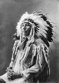 An unidentified Brulé Indian ~ undated