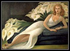 Diego Rivera - Portrait de Natasha Gellman (1943)