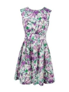 Emily and Fin Lucy Green & Purple Dress at Coggles.com online store - StyleSays