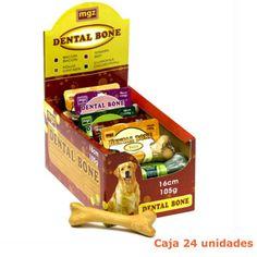 Huesos para cuidado dental de perros- 16cm - Caja 24u Toy Chest, Storage Chest, Chicken, Backyard, Oral Hygiene, Dental Care, Oral Health, Cavities, Bones