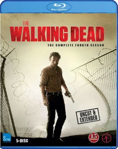 The walking dead sesong 4 Blu-ray