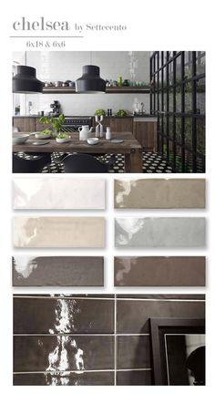 Settecento Chelsea double fired white body ceramic tile glazed bright neutral colors hand made crafted wall backsplash bathroom glossy subway tile large format
