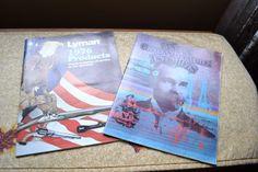 Vintage LYMAN Shooting Product Catalogs Centennial 1978 & 1976 Hunting,Gun,Adver #LYMAN