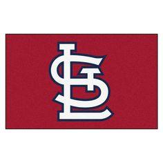 St. Louis Cardinals Football Helmet Area Rug