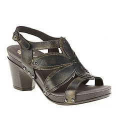 "Dansko ""Nina"" Sling Sandals in Graphite. I would wear these everywhere"