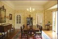 Gorgeous large antique dining area