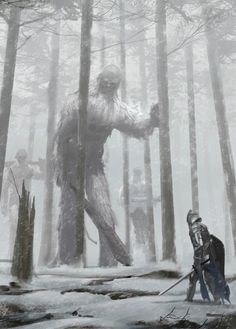 "fantasyartwatch: ""Giant Slayer by Young Il Choi ""                                                                                                                                                                                 Mais"