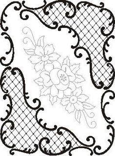 Pergamano šablony - free pattern - Kateřina Horáková - Álbumes web de Picasa: