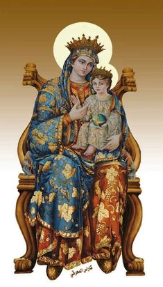 Religious Pictures, Religious Icons, Religious Art, Hail Holy Queen, Hail Mary, Blessed Mother Mary, Blessed Virgin Mary, Catholic Art, Catholic Saints