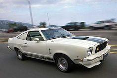 1976  En photo : Mustang Cobra II