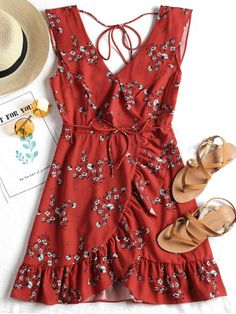 606c4fa7c3 63 Best FLORAL PRINT DRESS images in 2019 | Summer dresses, Casual ...