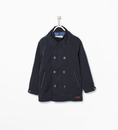 Double breasted raincoat from Zara