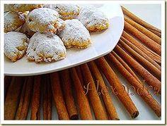 Μήλα ζουμερά και κατακόκκινα! Ώρα να φτιάξουμε μηλόπιτες…. Υλικά 1 πακέτο αλεύρι που φουσκώνει μόνο του 1/4 κ.γ. αλάτι 1 κούπα καλαμπ... Almond, Sweet Treats, Deserts, Breakfast, Blog, Recipes, Greece, Morning Coffee, Sweets