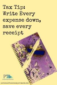 Keeping a notebook can save you hundreds or thousands on your deductions every year.