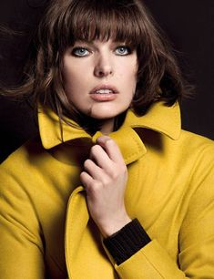 The Official Milla Jovovich Website :: What's new? Milla Jovovich, Gorgeous Eyes, The Most Beautiful Girl, Gorgeous Women, Donna Karan, Hello Magazine, Mary Elizabeth Winstead, Teresa Palmer, Rachel Weisz