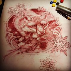Tattoo Artwork by Taniele Sadd from Korpus Tattoo in Brunswick, Melbourne