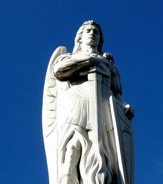 Archangel Uriel by Ernesto Tamariz