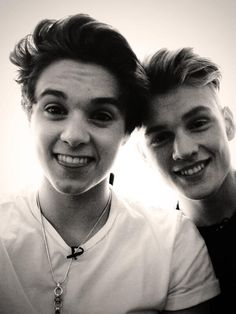 Bradley Simpson and Tristan Evans Brad is soo cute he looks like a baby 's adorable