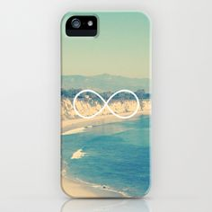 Forever Summer California Infinity iPhone Case by RexLambo - $35.00