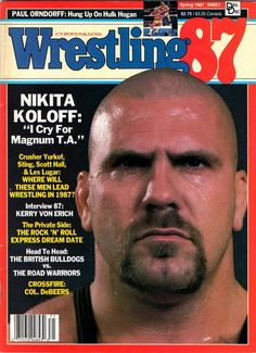Wrestling '87 -Spring 1987 -Nikita Koloff, Sting, Scott Hall, Lex Luger, Crusher Yurkoff, Kerry von Erich, Col. DeBeers