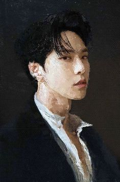 Kpop Drawings, Art Drawings, Aesthetic Art, Aesthetic Pictures, Nct 127, Nct Group, Nct Doyoung, Kpop Fanart, Nct Dream