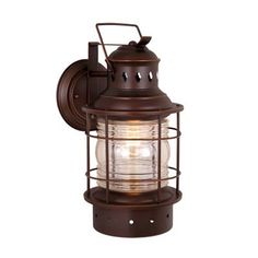 Nuvo Lighting Piper 1-Light Outdoor Sconce & Reviews | Wayfair