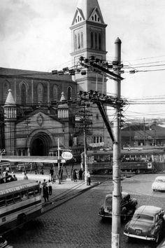 Igreja Nossa Senhora da Conceição, em Pinheiros, em 1963