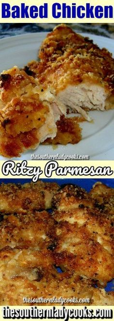 PARMESAN BAKED CHICKEN - The Southern Lady Cooks