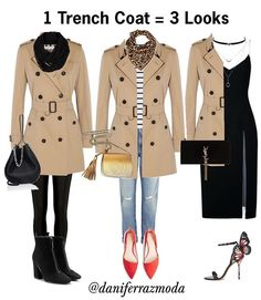 Trench Coats : Coats & Jackets for Women : Target Moda Outfits, Winter Outfits, Trench Coat Outfit, Trench Coats, Trench Coat Women, Burberry Trench Coat, Moda Chic, Winter Mode, Mode Hijab