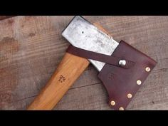 How To Make A Leather-based Axe Sheath.... *** Have a look at more by going to the picture link