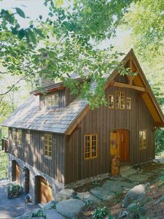 Rustic Architecture | Carriage House | Guest Home | In-Law Suite