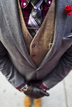 #Classic & #streetstyle combination with #layers #plaid