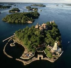 Bolt Castle in Thousand Islandns, NY