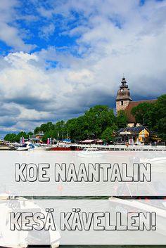 Koe kesäinen Naantali kävellen   Live now – dream later -matkablogi