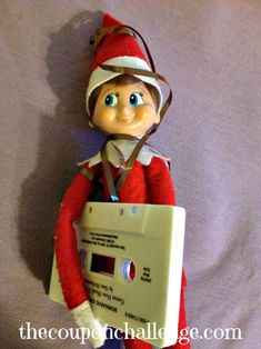 What is this thing? - Part of 17 Elf on the Shelf Ideas
