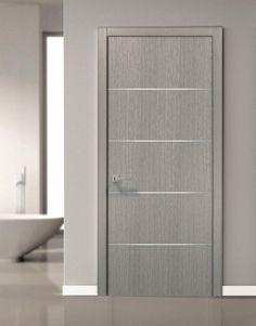 Barn Door Slab Grey Planum 0020 Grey Oak Use as Sliding Grey Interior Doors, Interior Door Styles, Door Design Interior, Grey Doors, Flush Door Design, Main Door Design, Front Door Design, Modern Door Design, Sliding Panels