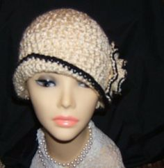 1920s style crochet cloche flapper hat pattern only flapper hi up for your consideration is a new pattern i have created for a s style cloche flapper hat it is a very simple pattern that you can read easily dt1010fo