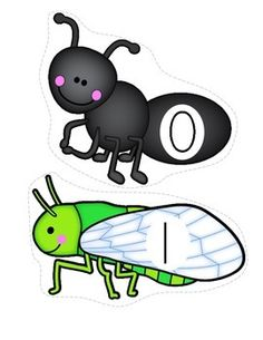 INSECTS COUNTING - set of insects, Use for number sequencing, number matching (print 2 copies), insect matching, vocabulary and recognition. Creative Curriculum, Preschool Curriculum, Preschool Classroom, Kindergarten Math, Numbers Preschool, Preschool Themes, Preschool Printables, Free Printables, Insect Activities