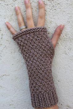 """kit a tricoter """"mitaines au point de blé"""" - KITS A TRICOTER/pour les mains - 1ou2mailles"""