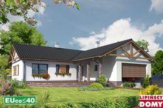 Lipińscy Domy Projekt: Walencja II Energy Projects, Home Fashion, Cabin, House Styles, Home Decor, Cabins, Cottage, Interior Design, Home Interior Design