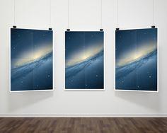Triple+Hanging+Poster+Frame+Mockup+PSD