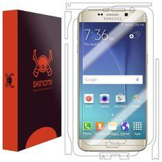 Galaxy S6 Edge+ Screen Protector + Full Body, Skinomi TechSkin Full Coverage Ski #Skinomi